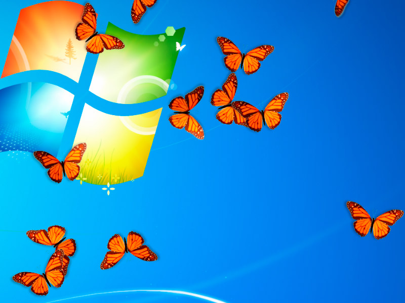Brings amazing butterflies to your desktop!