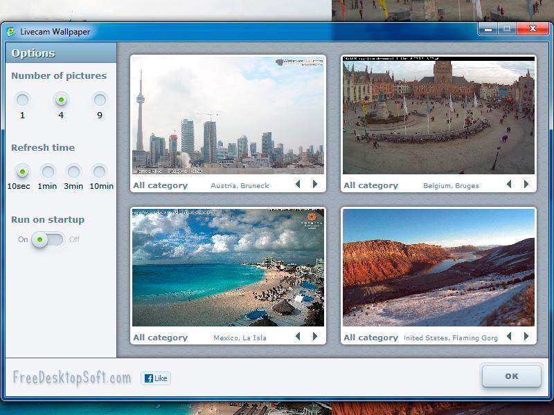 Livecam Wallpaper full screenshot